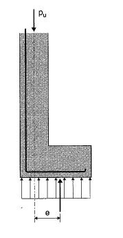 Semelle excentr e et poutre de redressement sols fondations civilmania - Mur en limite de propriete droit ...