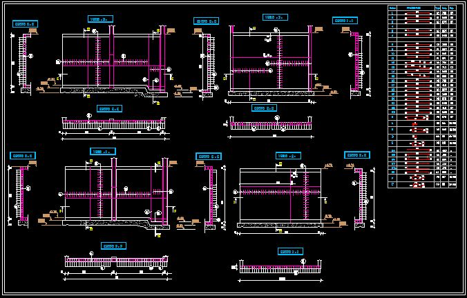 coffrage et ferraillage d 39 une bache eau discussions. Black Bedroom Furniture Sets. Home Design Ideas