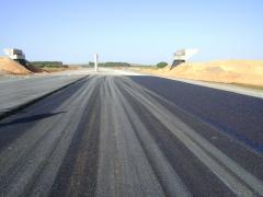 Pk 80 760 vers Alger arrachement De La couche d\