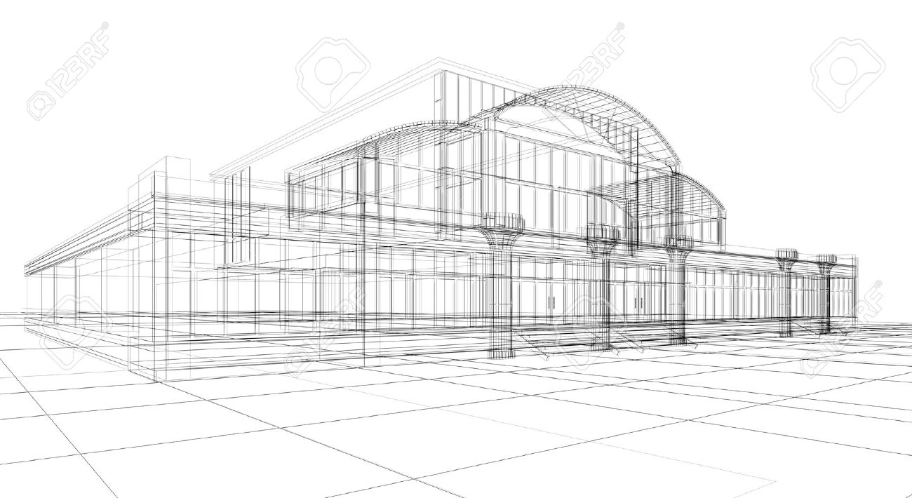 Image Gallery Of Building Structure Sketch Since Architecture