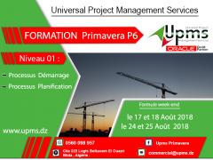 Formation Sur la gestion de projet avec Primavera P6